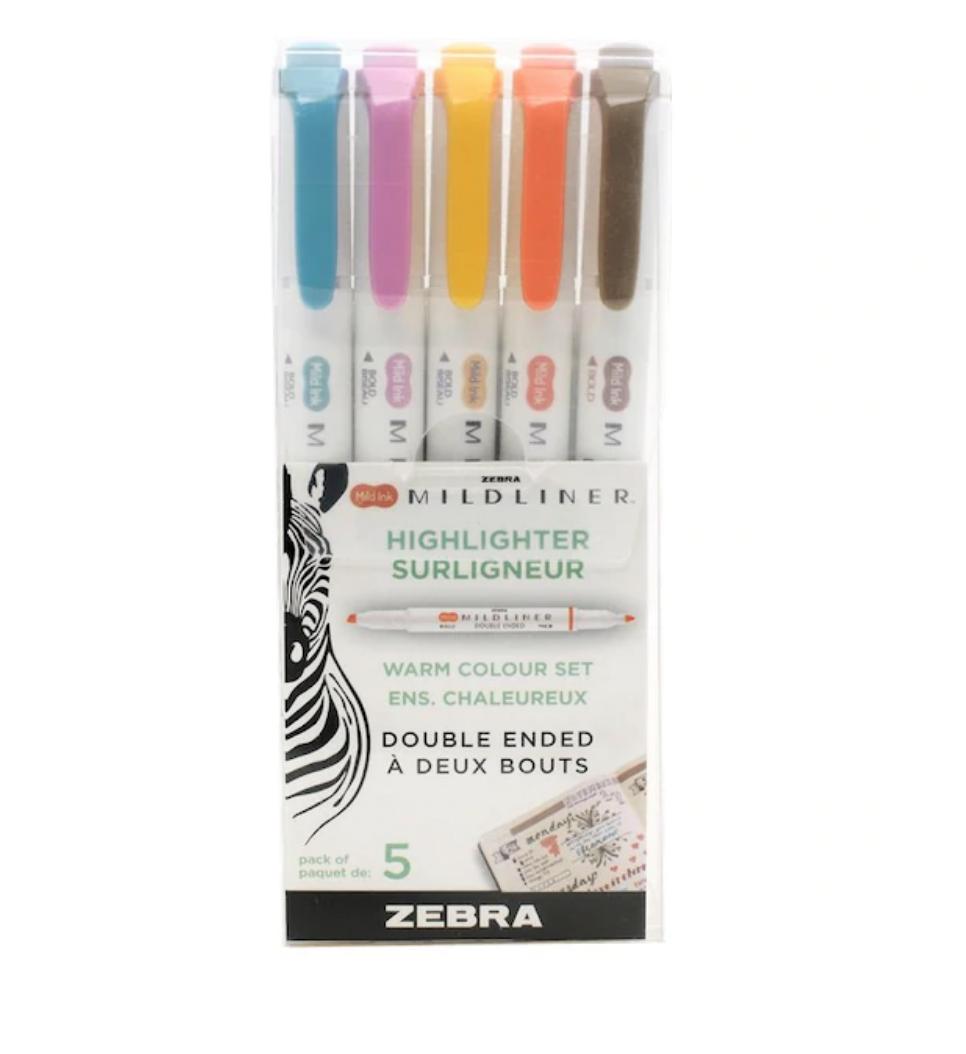 Zebra Mildliner Highlighter
