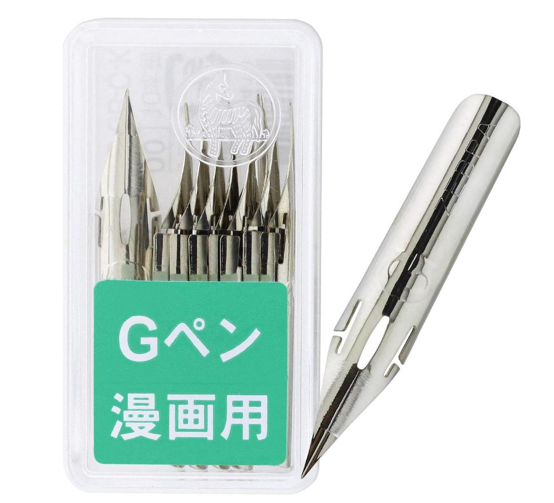 Zebra Zebra Comic Pen Nib - G Model