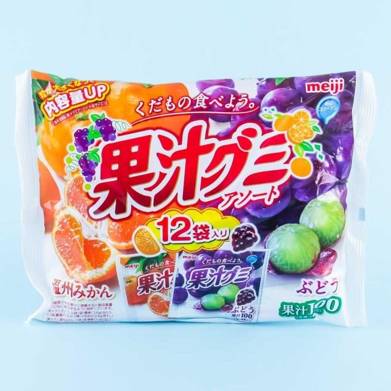 Wismettac Meiji Collagen Fruit Gummy Assorted Pack