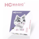 HC-6042 Gray and White Cat Building Block