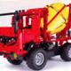 Cada C51014 Remote Control Cement Truck Building Block