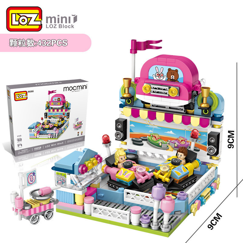 LOZ Bumper Car LOZ1728