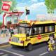 Qman Colorful City Bus Building Block 1136