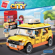 Colorful City Taxi Building Block 1134