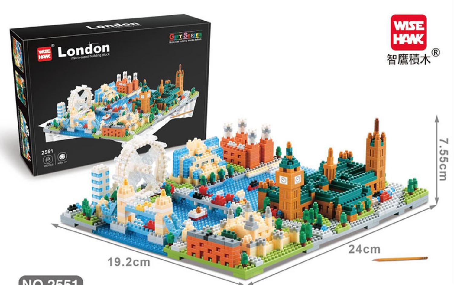 2551 London Building Block