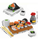 2341 Sushi Building Block