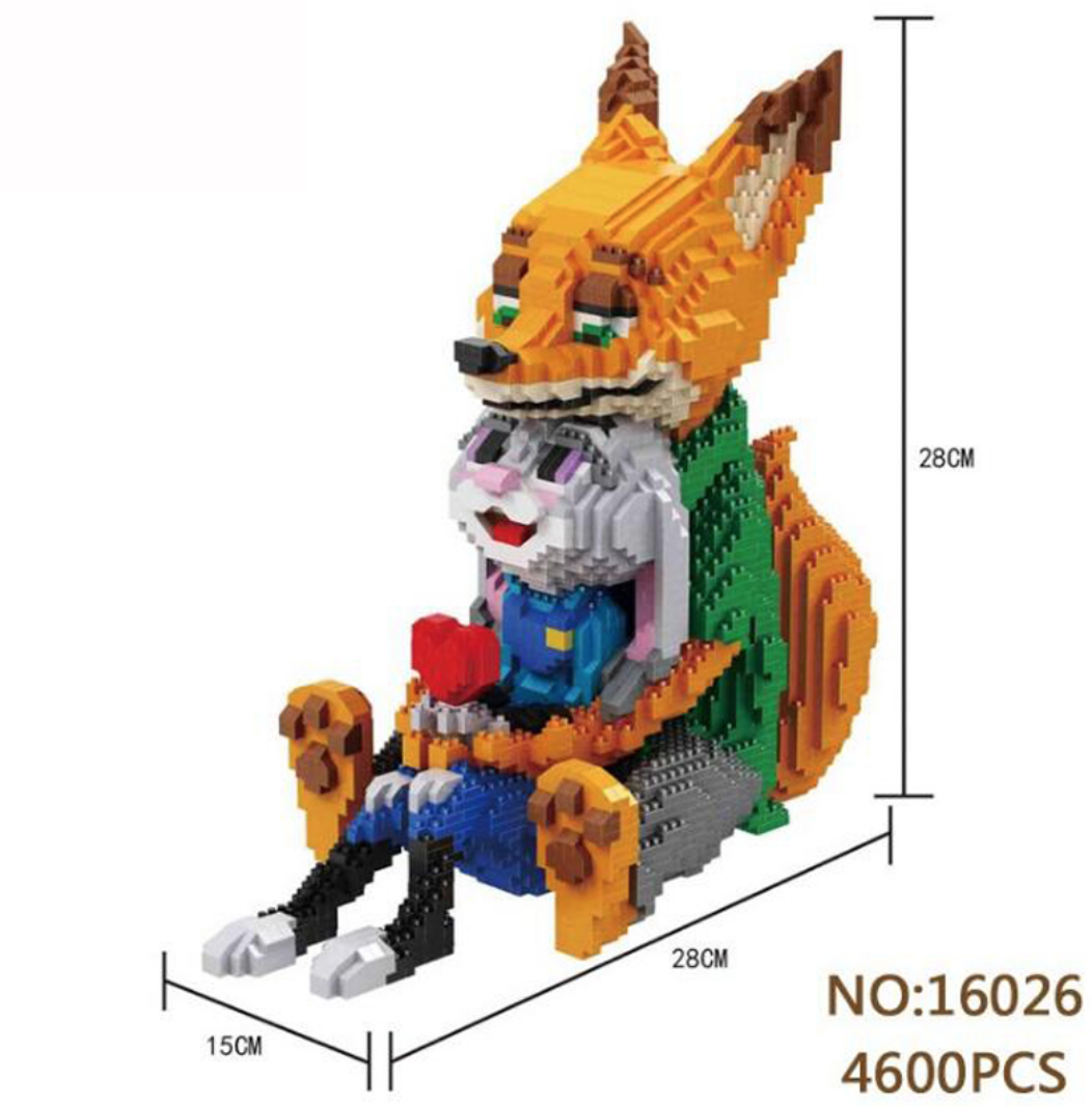 16026 Zootopia Building Blocks