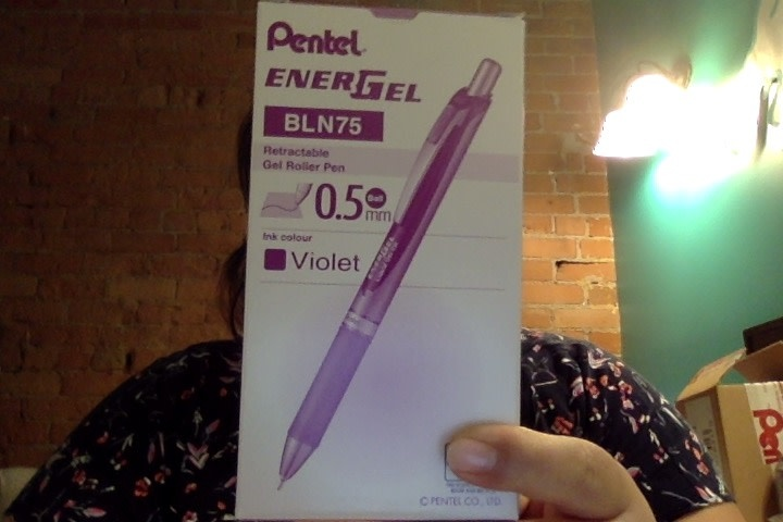 ENERGEL 0.5MM Needle Point Ballpoint Pen