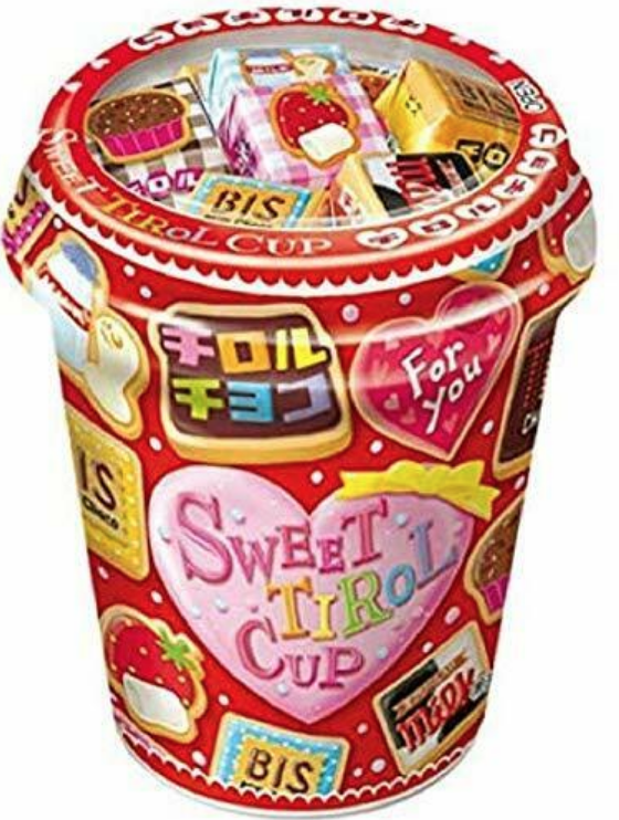 TIROL TIROL Sweet Chocolate Cup 40 pcs