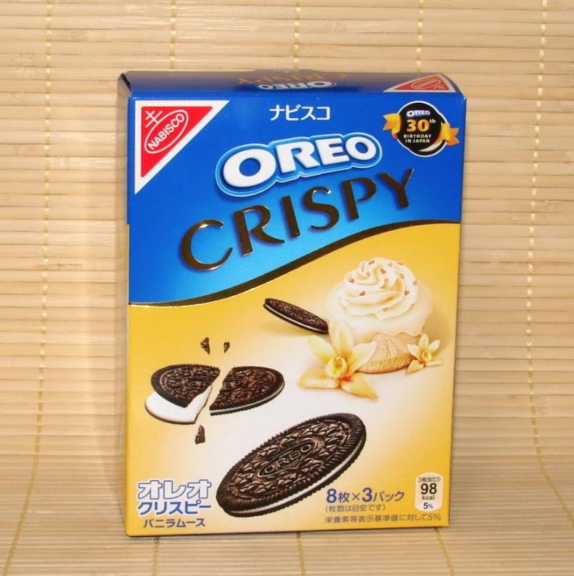 OREO Oreo Crispy Cookies (Vanilla Cream)