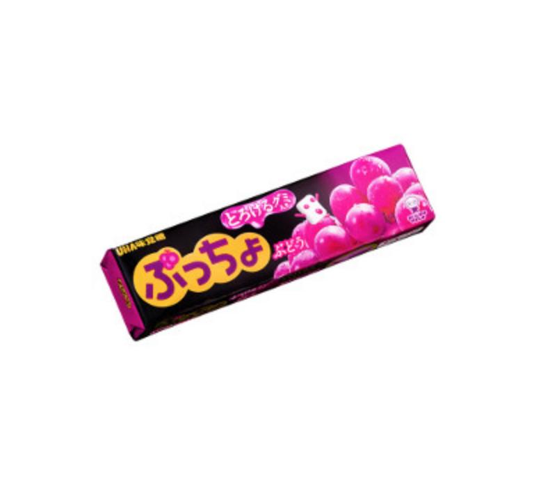 UHA UHA Puchao Gummy Soft Candy (Grape Flavor)