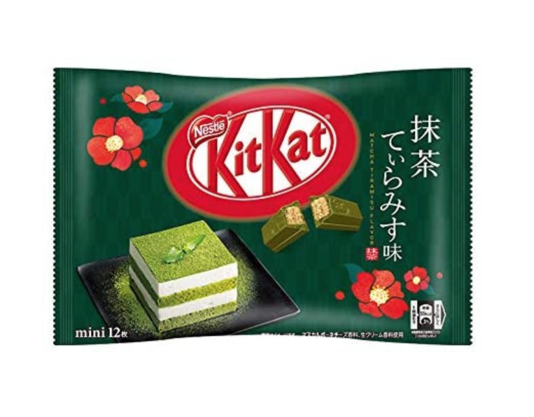 KitKat Kitkat Mini Chocolate (Matcha Tiramisu Flavour)