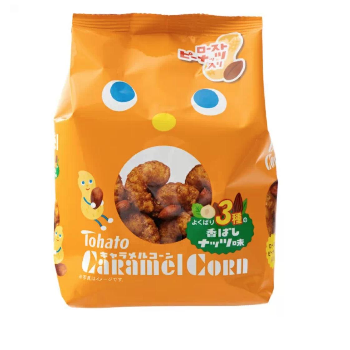Tohato Tohato Caramel Corn (Chocolate Flavour)