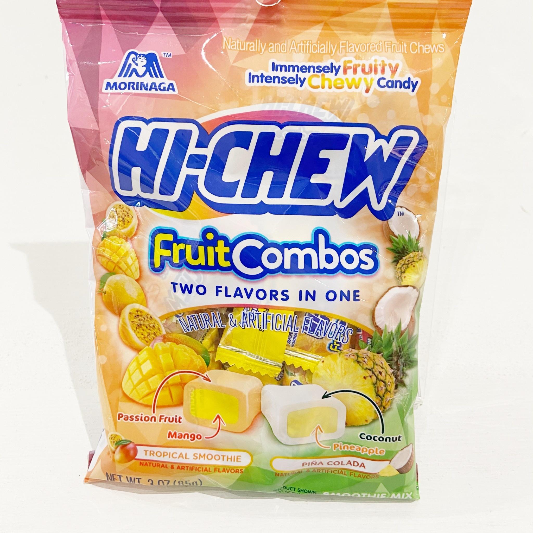 Morinaga Morinaga Hi Chew Tropical Smoothie/Pina Colada Bag 85g