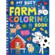 Penguin Random House My Busy Farm Coloring Book