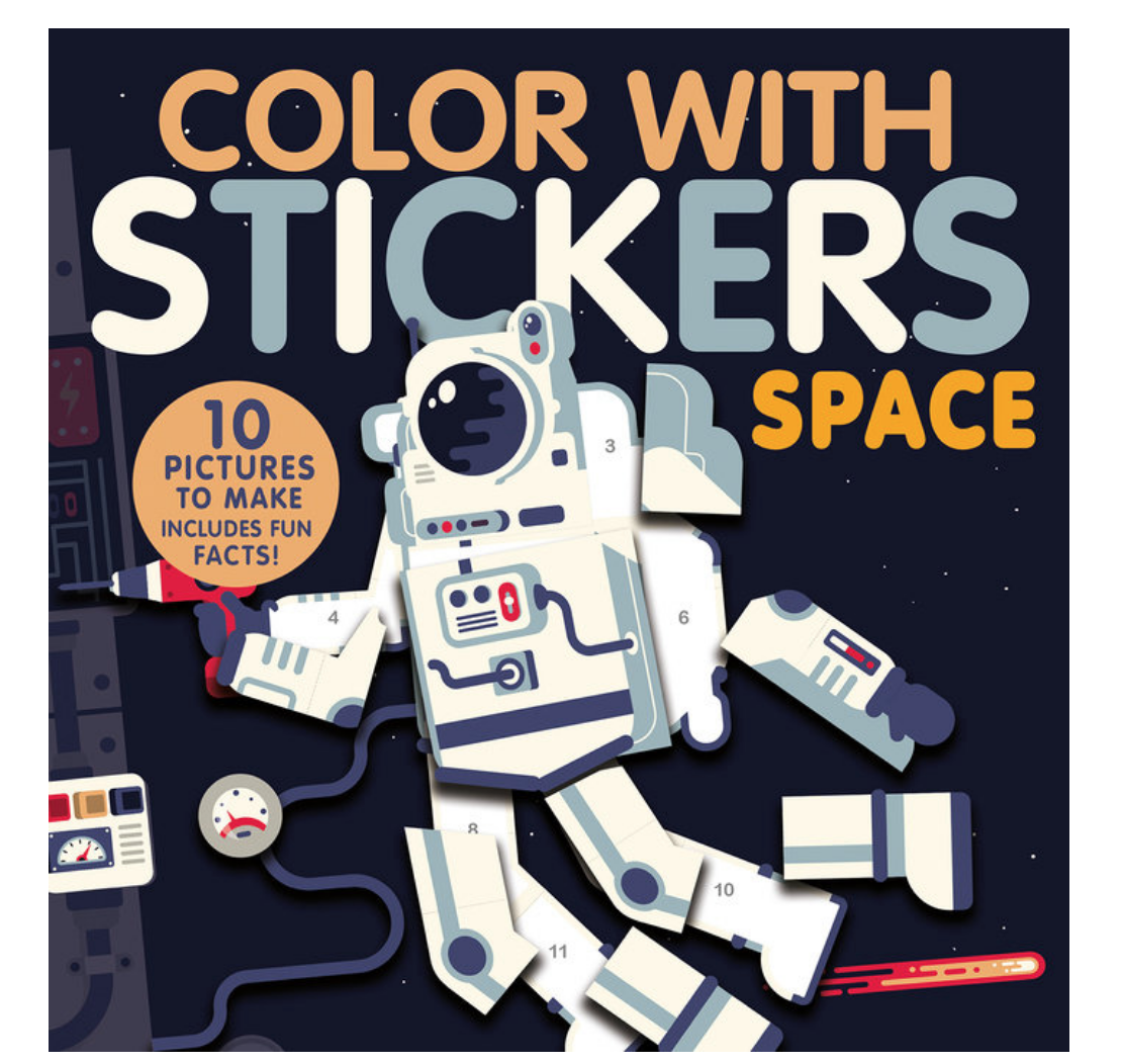 Penguin Random House Color with Stickers: Space