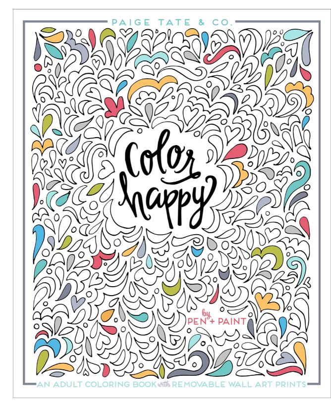 Penguin Random House Color Happy Book