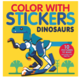 Penguin Random House Color with Stickers: Dinosaurs