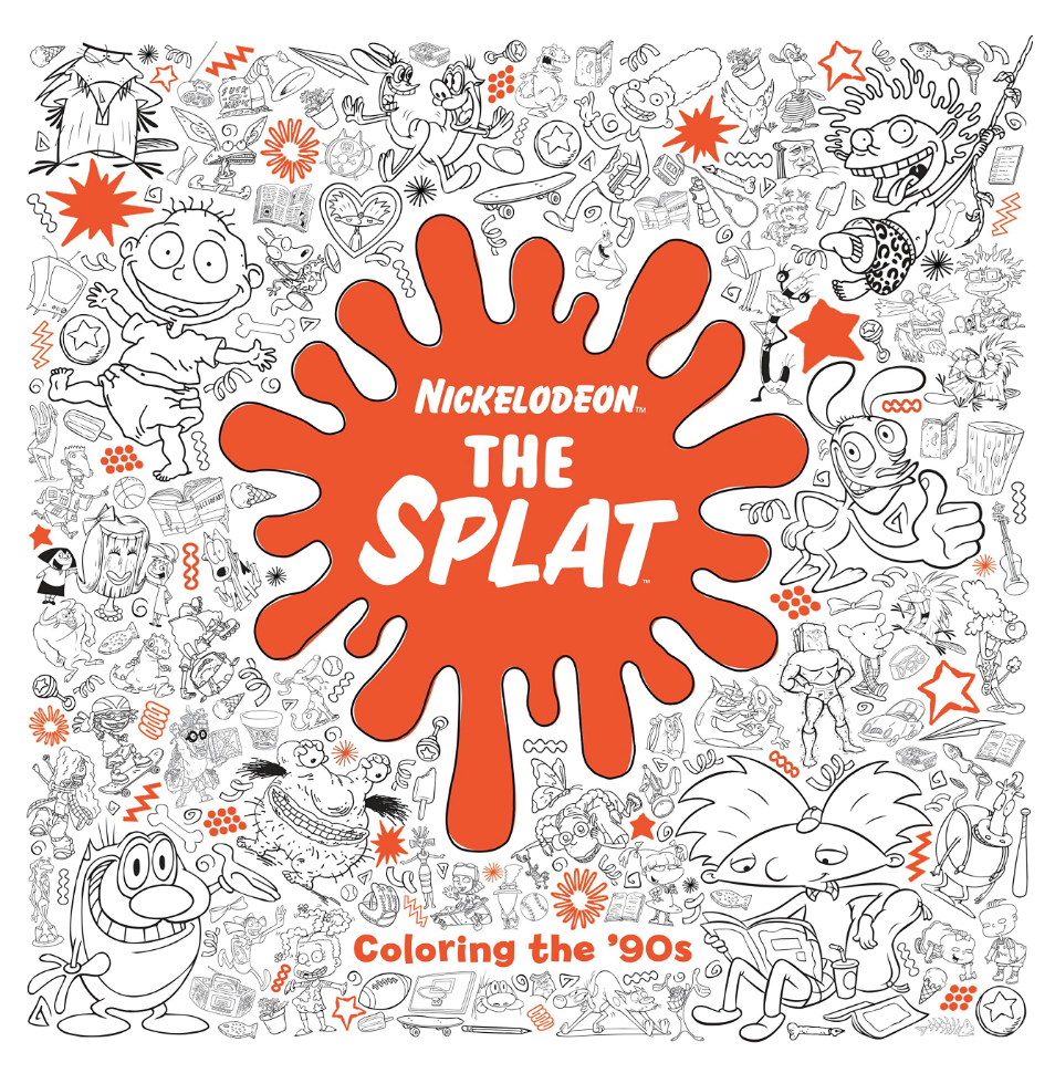 Penguin Random House Nickelodeon The Splat: Coloring the 90s