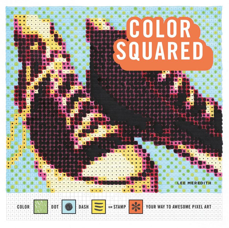 Penguin Random House Color Squared :Pixel Colouring Book