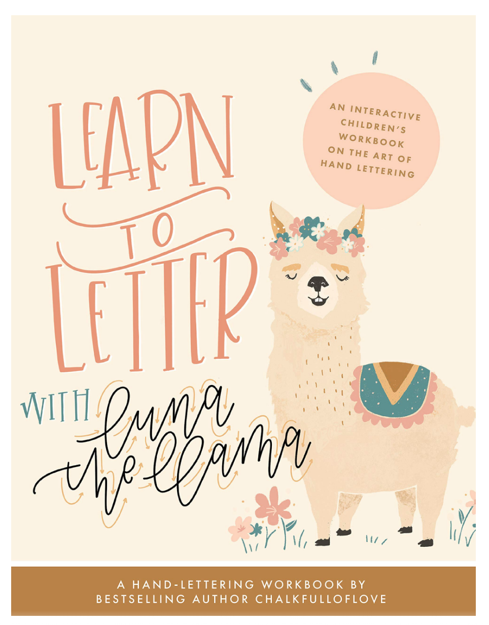 Penguin Random House Learn to Letter with Luna the Llama Book