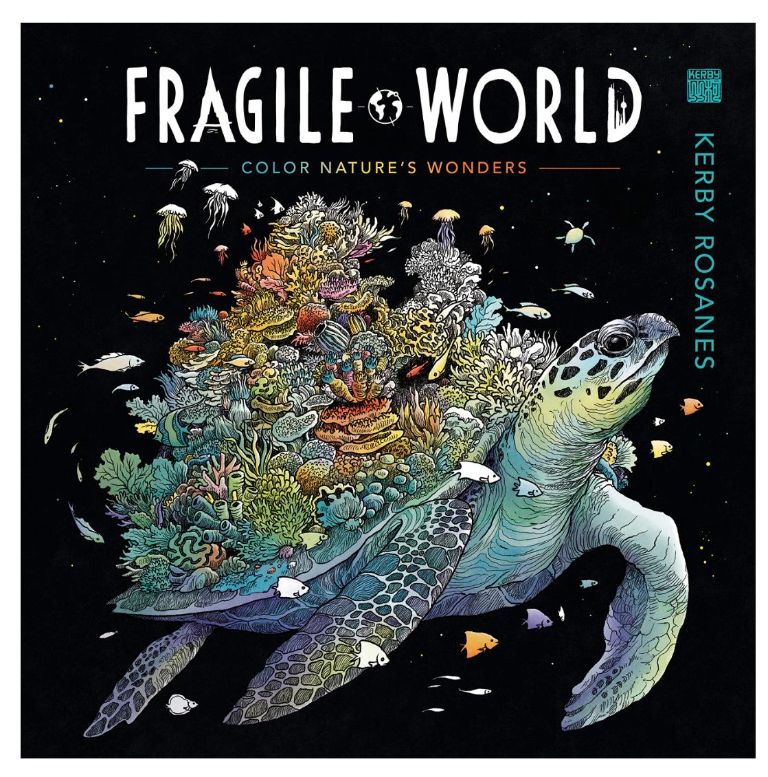 Penguin Random House Fragile World Coloring Book