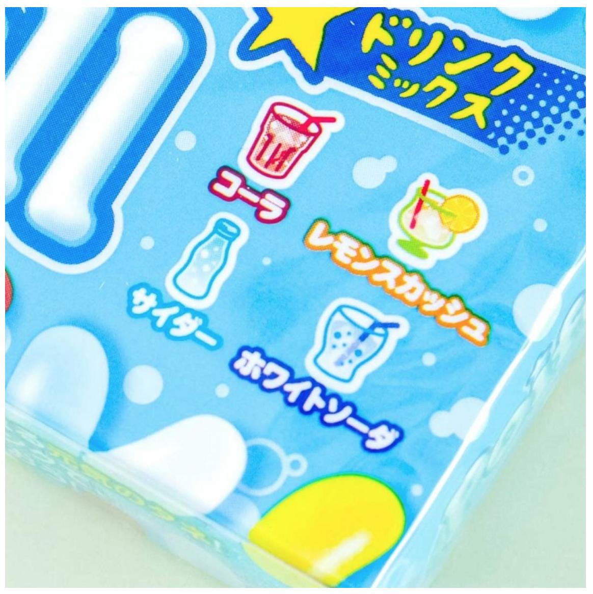 Meiji Meiji Poifull 4 Kinds of Soda Jelly Bean