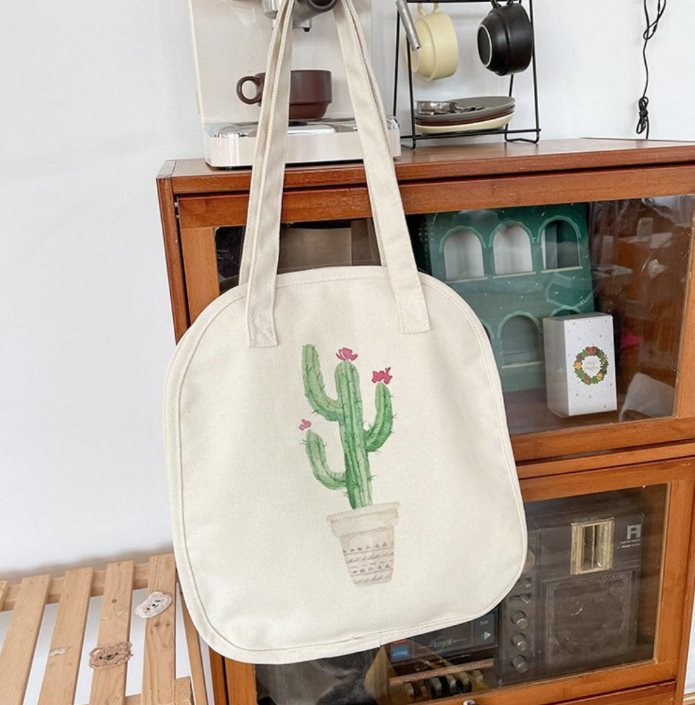 Lingsu Cactus Tote