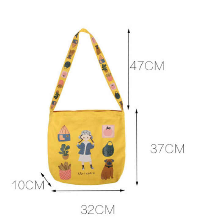 Weifang Girl in Sunhat Lifestyle Tote