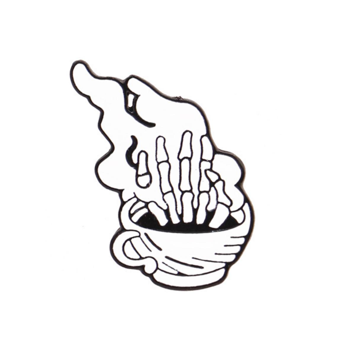 Xiu Hong Skeleton Pin