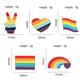 Xiu Hong Rainbow Finger Pin