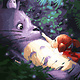 Cai Si Totoro DIY Painting