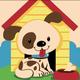 Cai Si Children Dog DIY Painting
