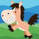 Cai Si Children Horse DIY Painting