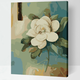Cai Si White Lotus DIY Painting
