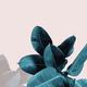 Cai Si Dark Green Palm Leaves DIY Painting