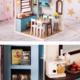AinoKang Blue Modern DIY Kitchen