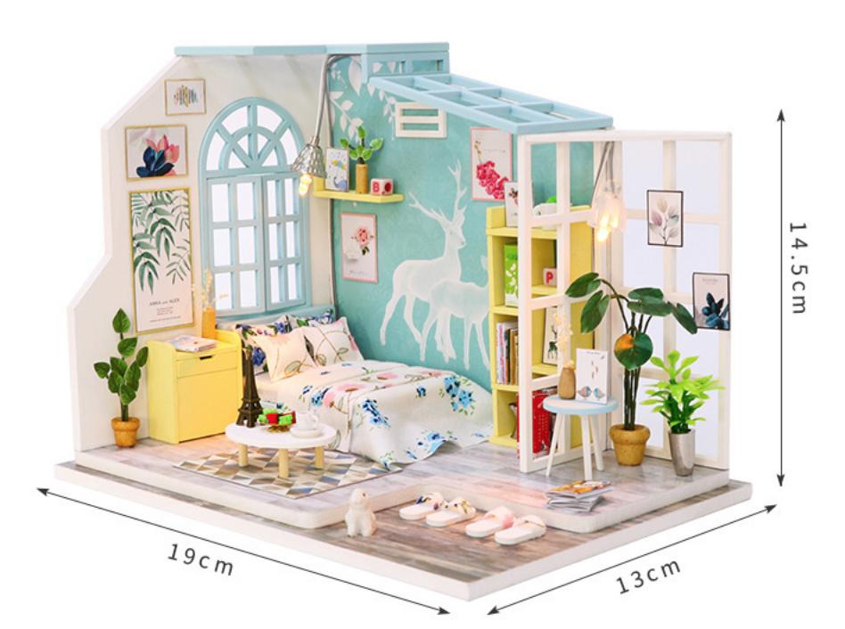 AinoKang Cozy Cottage Series DIY Room