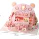 AinoKang Bear Dreamworks DIY - Bear Pink Bedroom