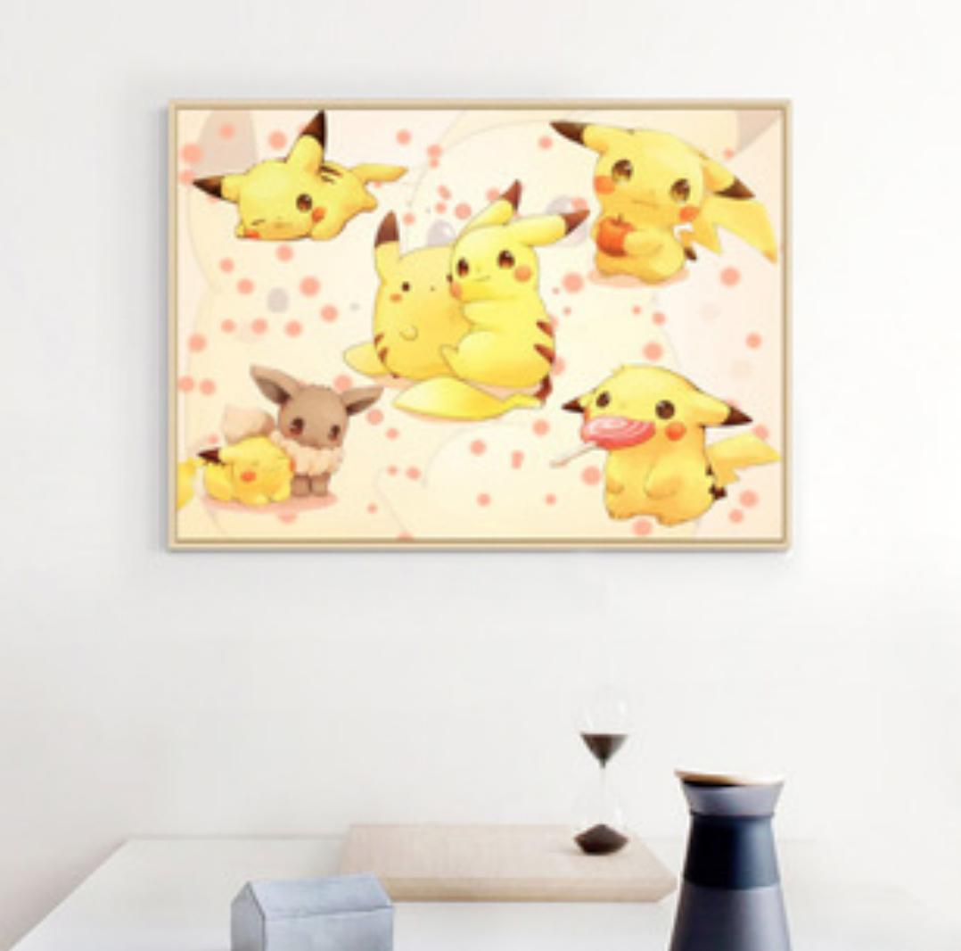 Qing Yun Z11CT0169-01 Pikachu Love Cross Stitch