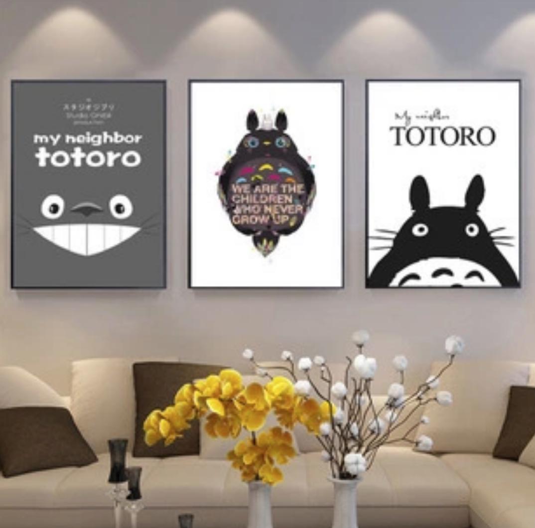 Qing Yun 7210-03 Totoro Back and White DIY Diamond Dot