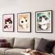 Qing Yun ZT6681-04 Cat Wreath Pink DIY Diamond Dot