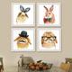 Qing Yun 7300-02 Rabbit with Mustache DIY Diamond Dot