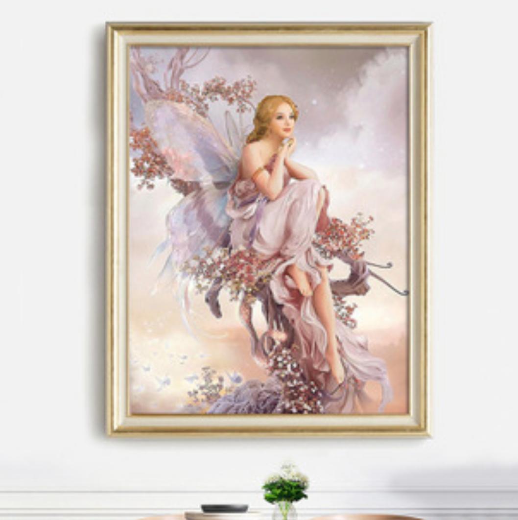 Qing Yun FM436-06 Fairy in Clouds DIY Diamond Dot