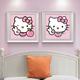 Qing Yun ZT2174-02 Hello Kitty DIY Diamond Dot