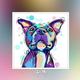 Qing Yun ZT6609-02 Bulldog DIY Diamond Dot