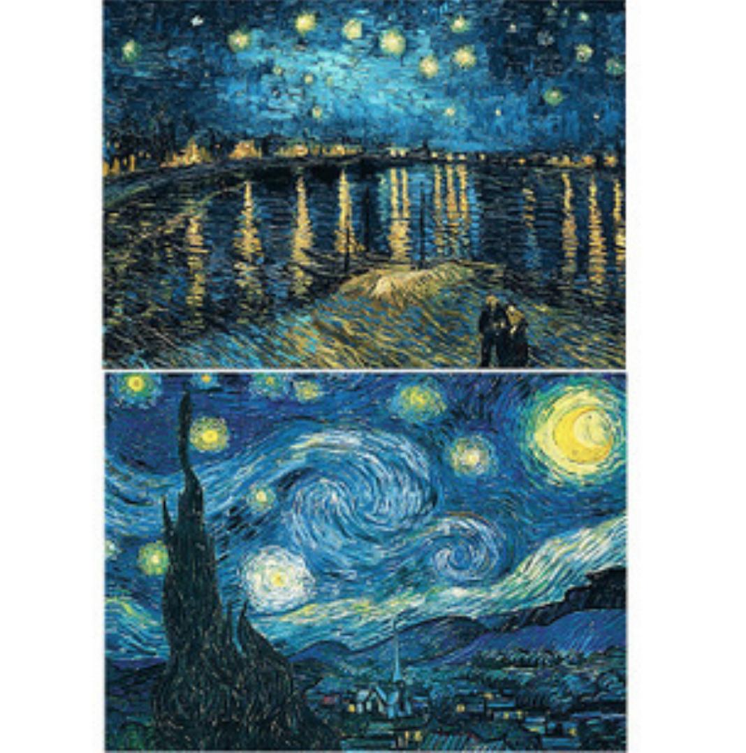Qing Yun WX1952-02 Van Gogh Starry Night DIY Diamond Dot