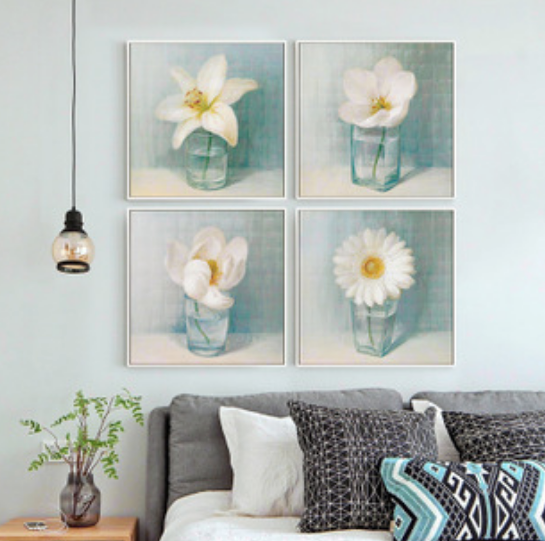 Qing Yun 576530-03 White Flower 3 DIY Diamond Dot