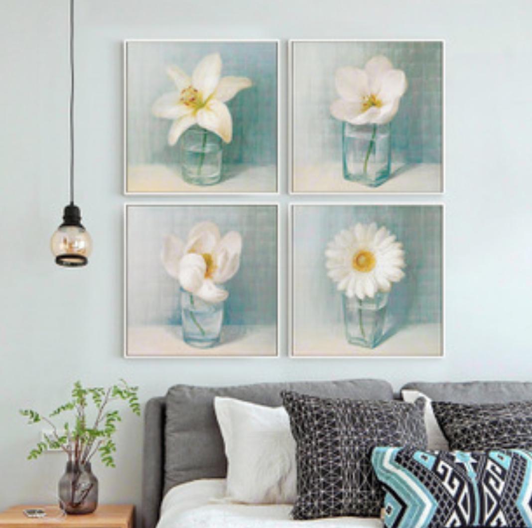 Qing Yun 576530-04 White Flower 4 DIY Diamond Dot