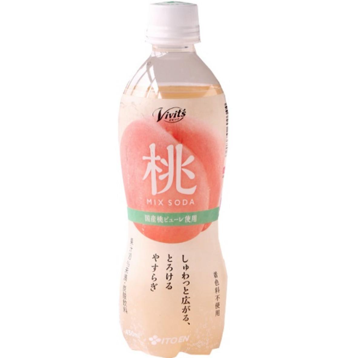 Itoen Itoen Vivit's Soda Peach
